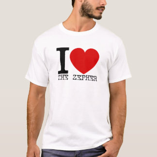 I Love The Zepher (Black) T-Shirt