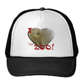 I Love the Zoo: Elephant Heart Mesh Hats