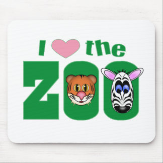 I Love the ZOO Mouse Pad