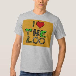 i love the zoo tee shirt