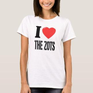 I Love The Zots - White T-Shirt