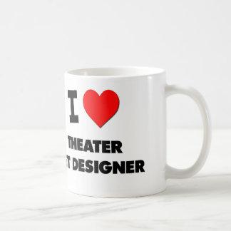 I Love Theater Set Designer Mug