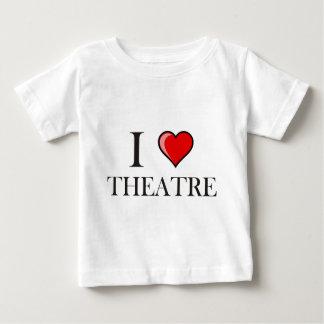 I Love Theatre Baby T-Shirt