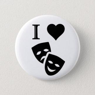I Love Theatre Button