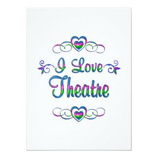 I Love Theatre Card