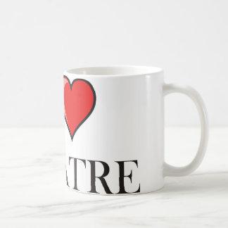 I Love Theatre Coffee Mug
