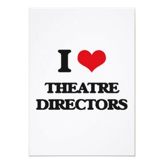 I love Theatre Directors Custom Invite