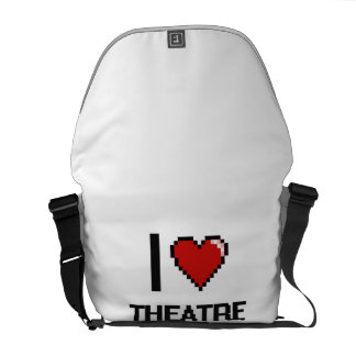 I love Theatre Directors Courier Bags