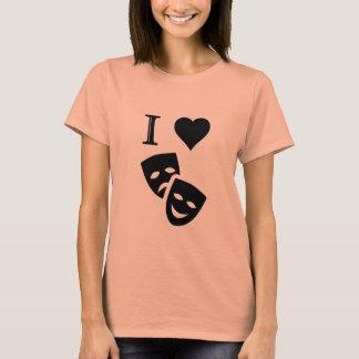 I Love Theatre T-Shirt
