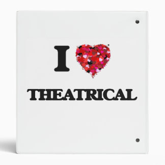 I love Theatrical 3 Ring Binder