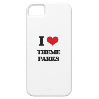 I love Theme Parks iPhone 5 Cases