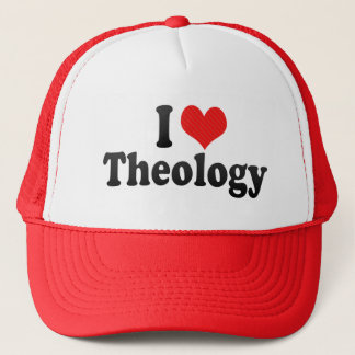 I Love Theology Trucker Hat
