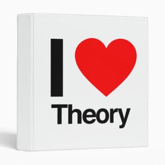 i love theory vinyl binder