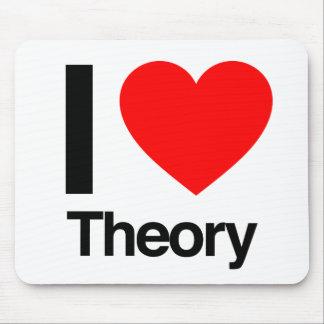 i love theory mousepad