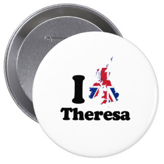 I Love Theresa - GBR - -  Button