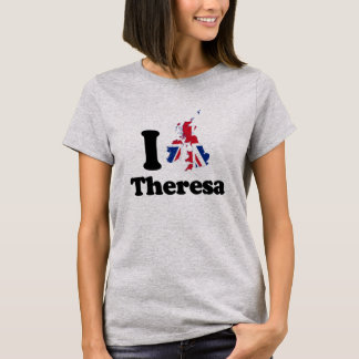 I Love Theresa - GBR - -  T-Shirt