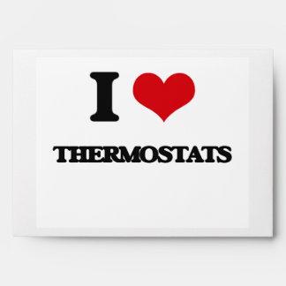 I love Thermostats Envelope