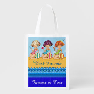 I LOVE THESE Bags - BFF Beach Girls Tote - srf