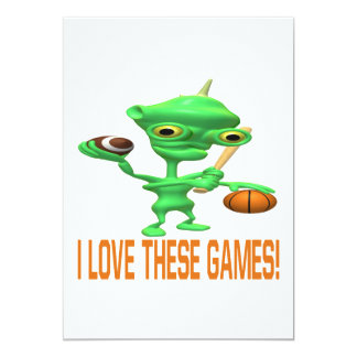 I Love These Games Card