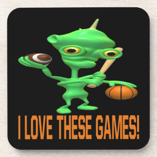I Love These Games Coaster