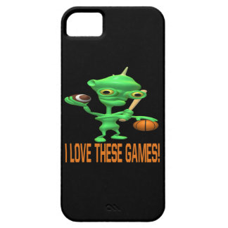 I Love These Games iPhone SE/5/5s Case