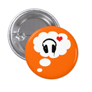 I love thinking about music button