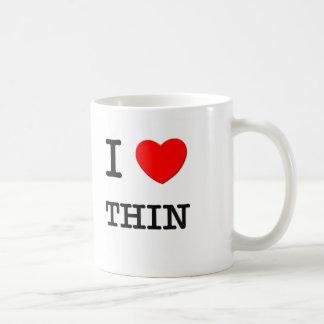 I Love Thinking Classic White Coffee Mug