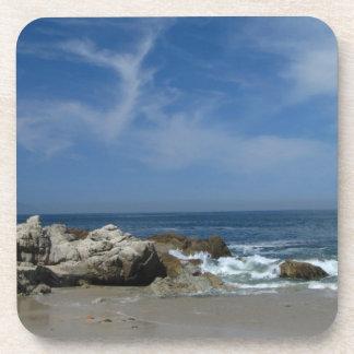 I Love This Beach Beverage Coaster