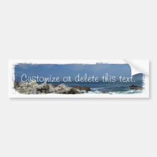 I Love This Beach; Customizable Bumper Stickers
