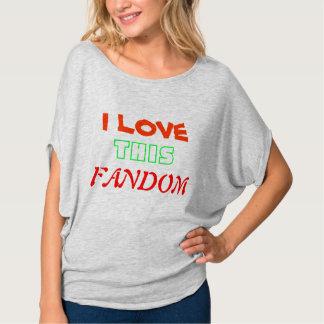 I love this fandom shirt