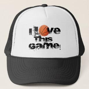 I Love Basketball Game Hats   Caps  287d3f0e5e8