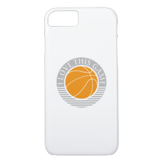 I love this game - basketball iPhone 7 case