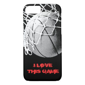 I Love This Game Basketball iPhone 7 Cover
