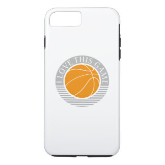 I love this game - basketball iPhone 7 plus case