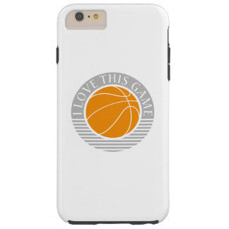 I love this game - basketball tough iPhone 6 plus case