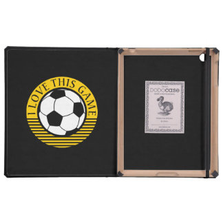 I love this game - soccer / football ball cover for iPad