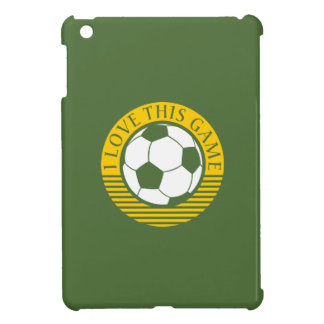 I love this game - soccer / football ball cover for the iPad mini