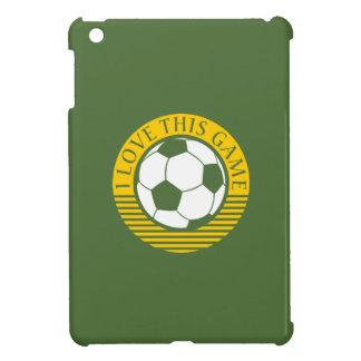 I love this game - soccer / football ball iPad mini cover