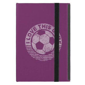 I love this game - soccer / football grunge cases for iPad mini