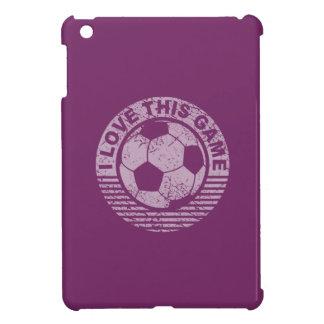 I love this game - soccer / football grunge iPad mini cover