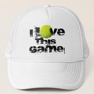 I Love This Game Tennis Cap