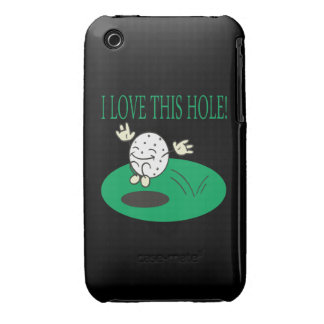 I Love This Hole iPhone 3 Covers