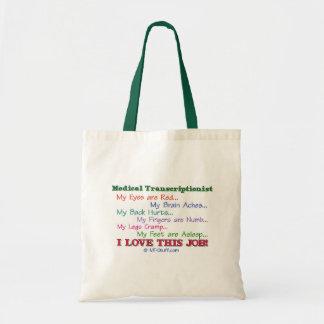 I Love This Job! Tote Bags