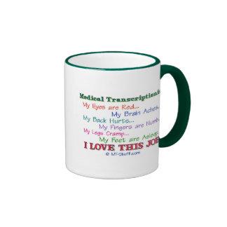 I Love This Job! Coffee Mugs