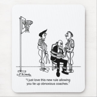 I Love This New Basketball Rule Mouse Pad