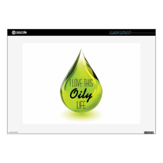 I love this oily life - mac or pc skin laptop decal