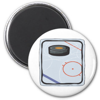 I Love This Pucking Game Magnet