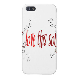 I Love This Song!  Cover For iPhone SE/5/5s