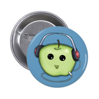 I Love This Song Green Apple Headphone Button