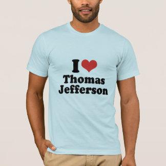 I LOVE THOMAS JEFFERSON - .png T-Shirt